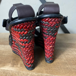 Bottega Veneta Sandal Wedge Heel