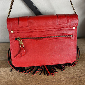 Proenza Schouler PS1 Large Fringe Chain Wallet Bag