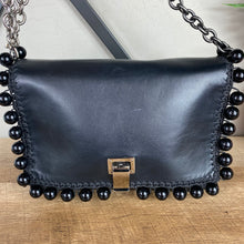 Load image into Gallery viewer, Proenza Schouler Leather Pom Pom Courier Bag