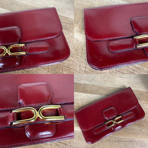 Delvaux Vintage Leather Wallet Clutch