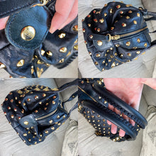 Load image into Gallery viewer, Be&D Garbo Studded Lamb Leather Satchel
