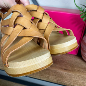 Swedish Hasbeens Vivi Caged Clog Sandals