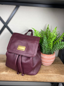 Marc Jacobs Take Your Marc Leather Backpack