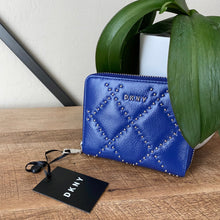 Load image into Gallery viewer, DKNY Sofia Studded Zip Around Wallet