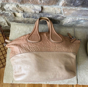 Givenchy Nightingale Two Tone Textured Bag