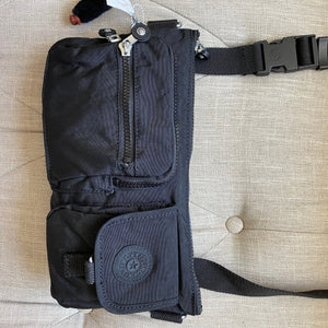 Kipling Presto Black Tonal Belt Bag Fanny Pack