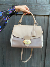 Load image into Gallery viewer, Mulberry Polished Calfskin Suede Primrose Satchel Crossbody