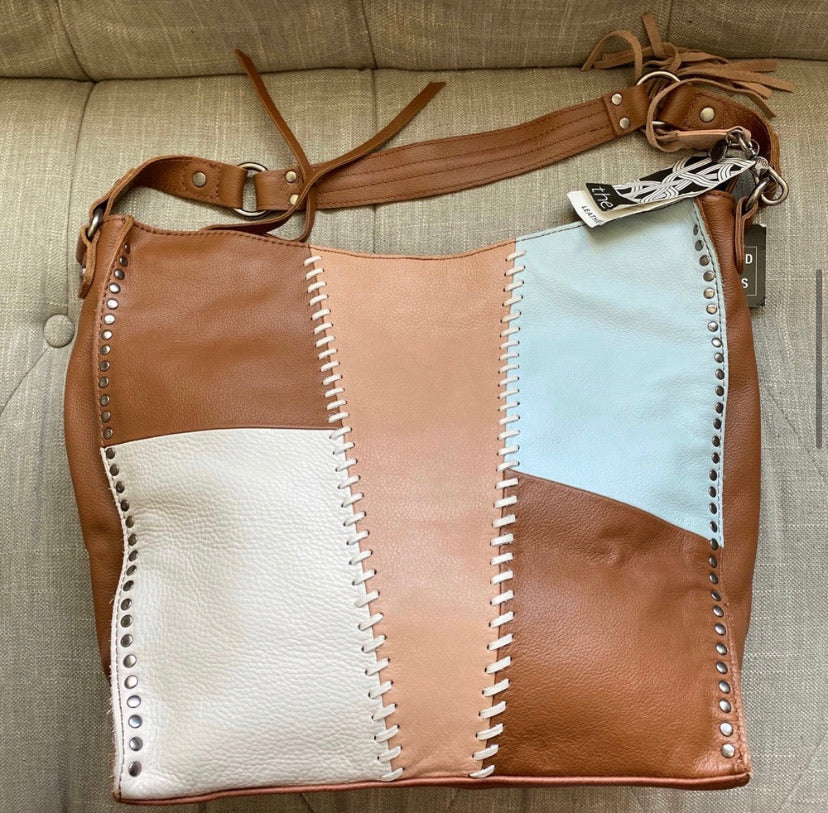The Sak Silverlake Leather Whipstitch Hobo