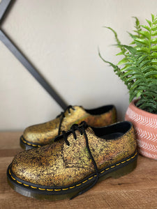 Dr. Martens 1461 Gold Crackle Oxford