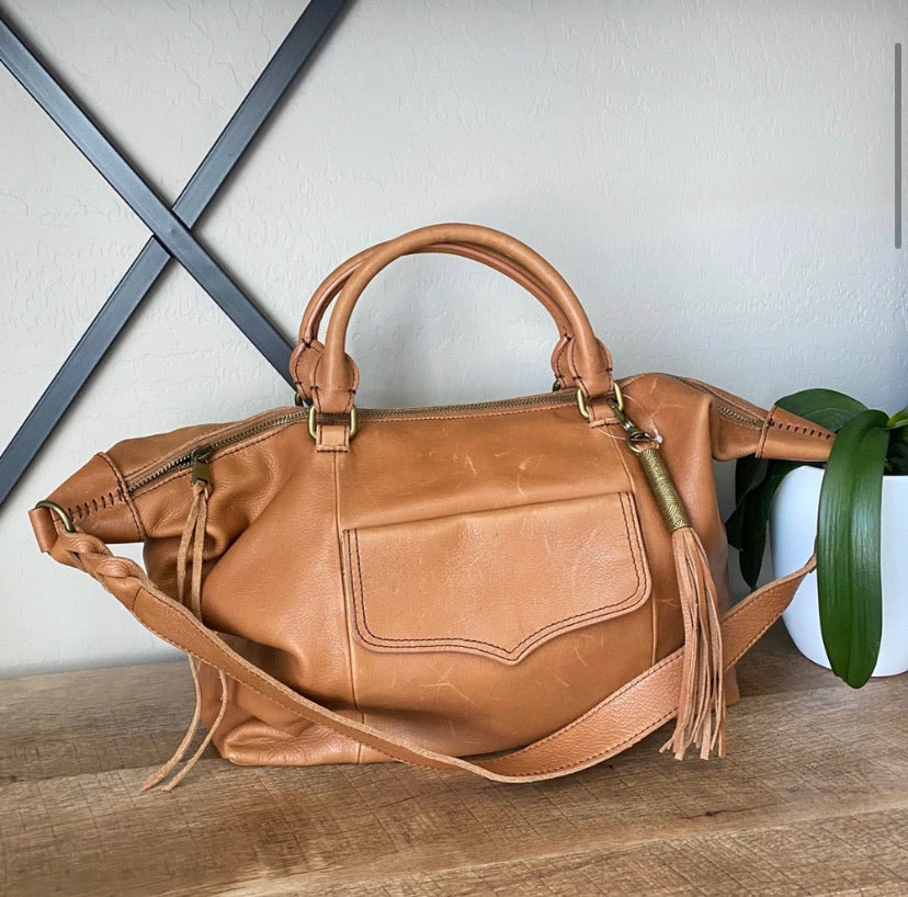 The Sak Sierra Convertible Leather Satchel