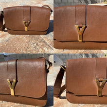 Load image into Gallery viewer, Yves Saint Laurent ChYc Cabas Y Flap Shoulder Bag