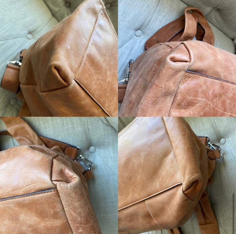 Chloe Vintage Leather Tote Bag