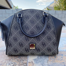Load image into Gallery viewer, Dooney & Bourke Sydney Logo Dome Satchel