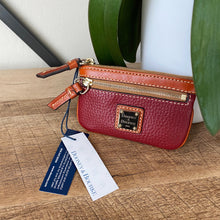 Load image into Gallery viewer, Dooney & Bourke Change Coin Purse Key Chain