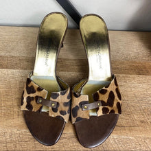 Load image into Gallery viewer, Dolce & Gabbana Leopard Print Sandal Heels