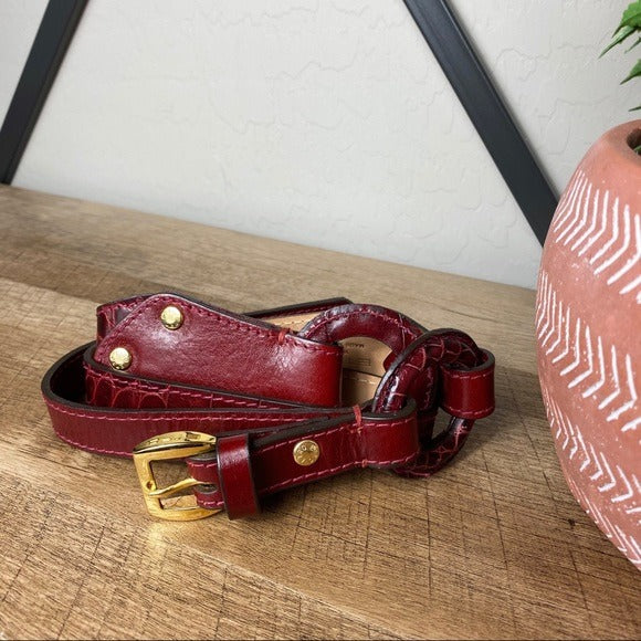 Etro Vintage Leather Belt