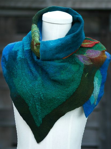 Color-Block Casual Scarves & Shawls
