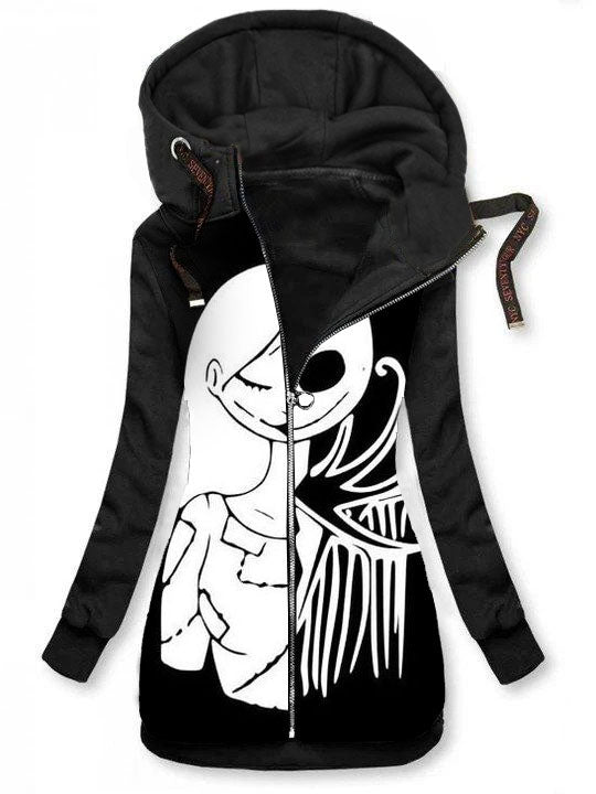 Punk Casual Hooded Jacket Coat