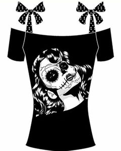 Casual Gothic Short Sleeve T-shirt