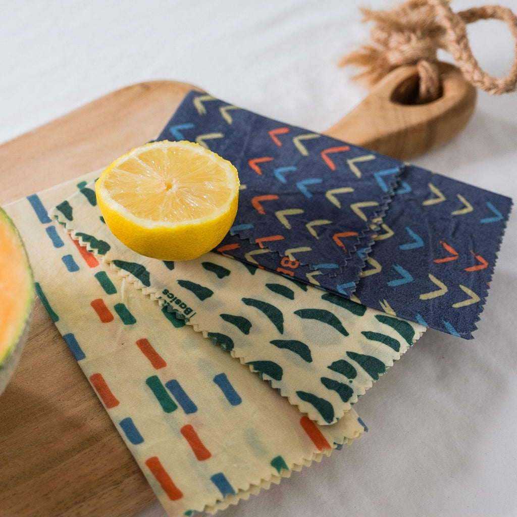 Bee Well Beeswax Wrap - Kitchen - Better Basics Eco-Friendly Products - Vancouver Canada