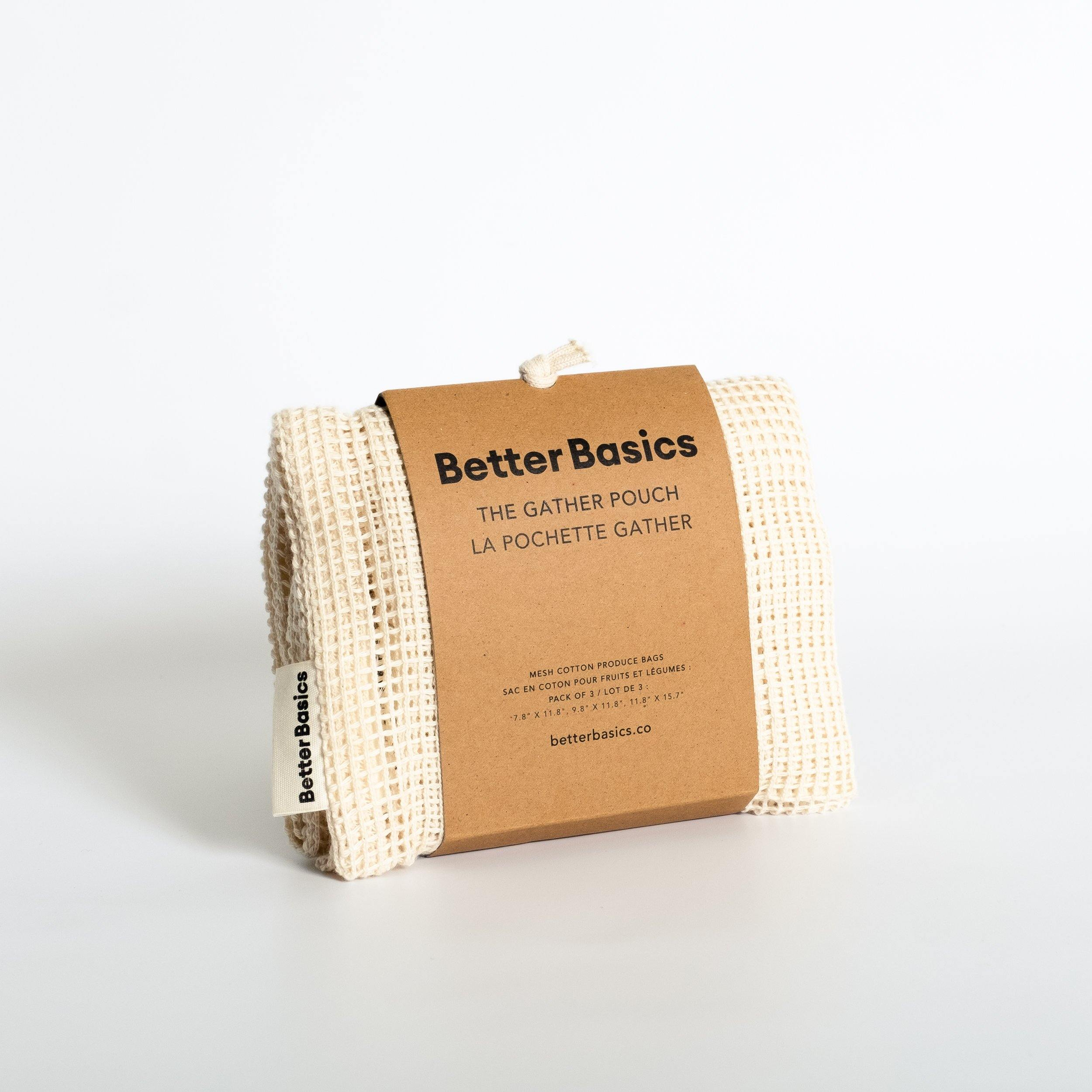 The Gather Pouches - Bag - Better Basics Eco-Friendly Products - Vancouver Canada
