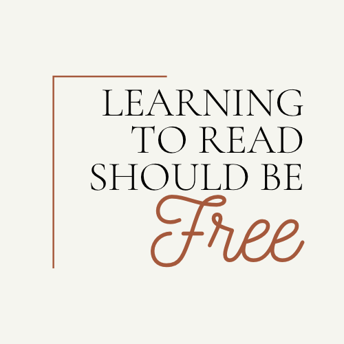 Support - LEARNING TO READ SHOULD BE FREE