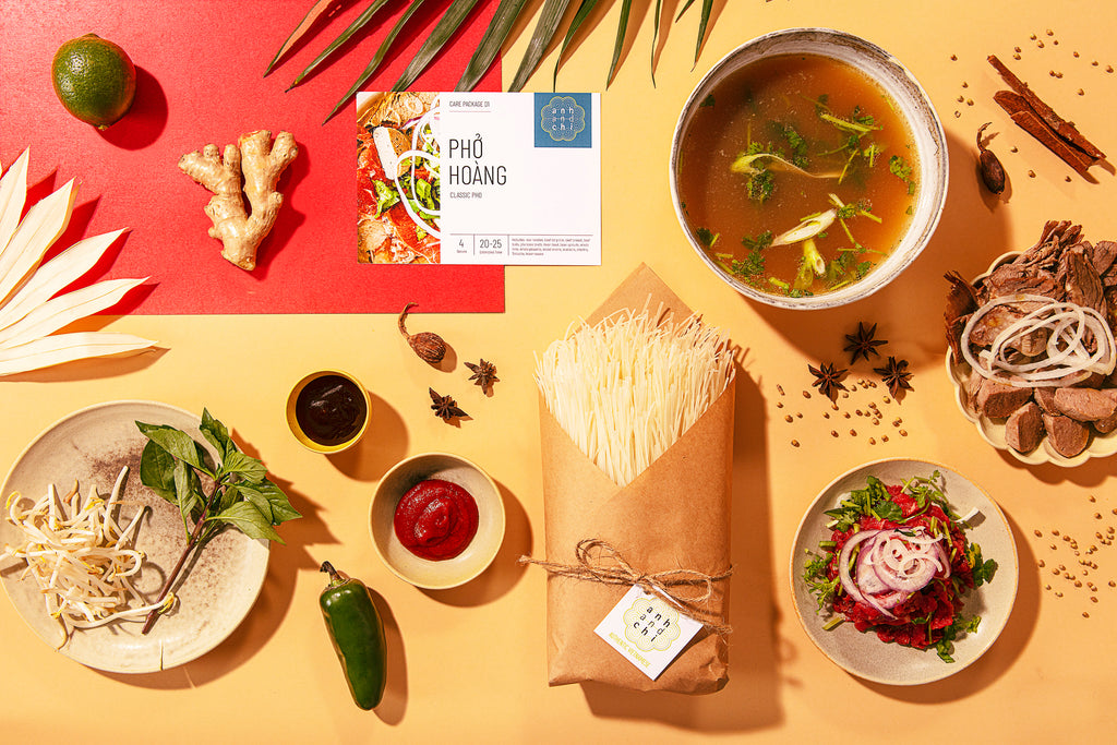 Anh and Chi Launches New Gesture of Love: Small Batch Artisan Sauces and DIY Meal Kits