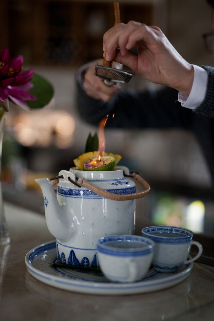 Anh and Chi's Warming Winter Punch Is Literally on Fire, and You Need to Try It