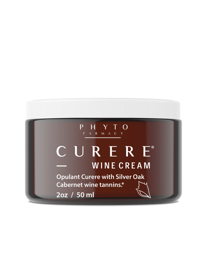 Curere Wine Cream: Nourish & Protect Your Skin with Red Wine Tannins