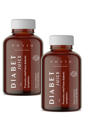 Diabet Juice: * Twin Pack *  Breakthrough Insulin Plant Supporting Blood Sugar Balance - PeakHealthCenter