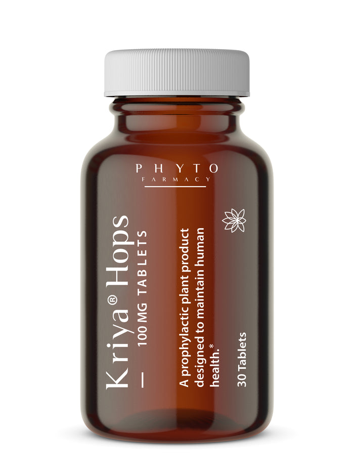 Kriya® Hops 100mg - 30 Tablets