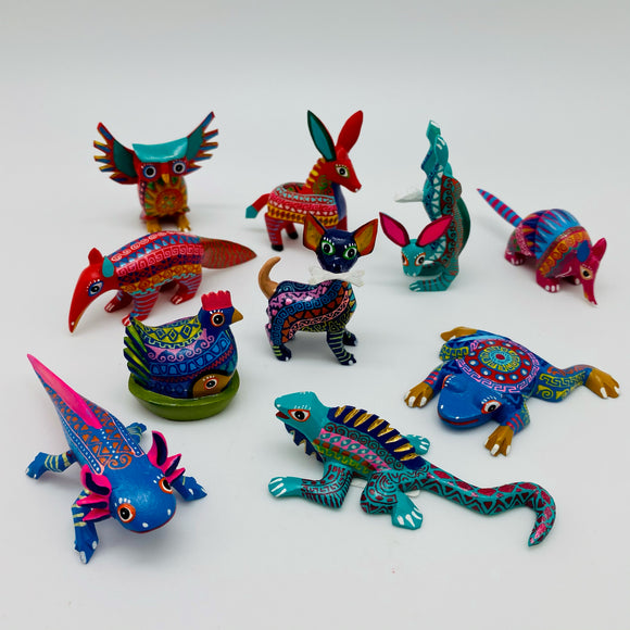 Alebrije Oaxacan Wood Carvings