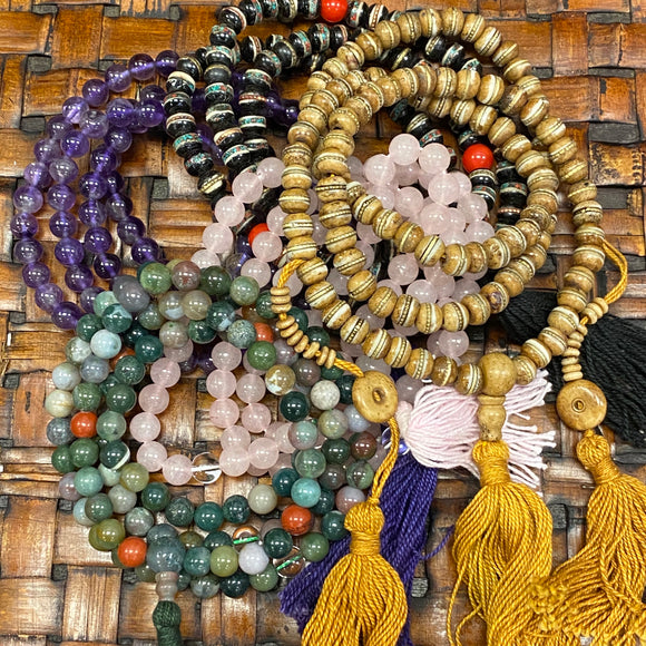 Buddhist 108 Bead Malas Prayer Beads