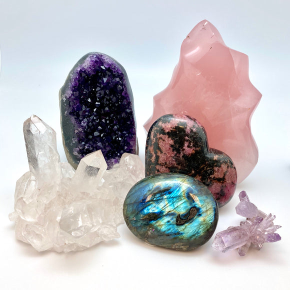 Rocks, Minerals & Crystals