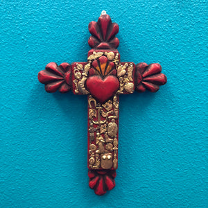 Hand-Carved Milagro Cross