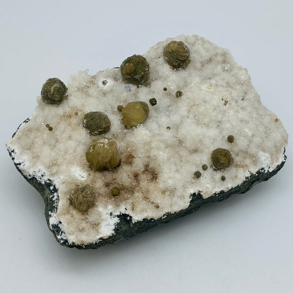 Apophyllite and Green Mordenite Specimen
