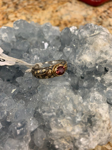 Pink Tourmaline Ring Size 7.5 D235