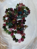 "45"" Multi-color Tourmaline Strand X998"