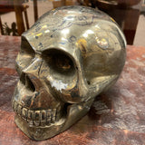 Huge Chaco Pyrite Skull