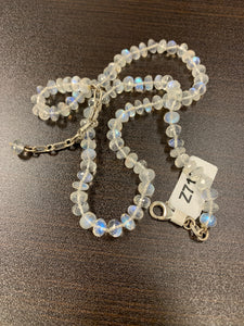 Moonstone Beaded Necklace Z712