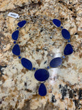 Lapis Necklace Z659