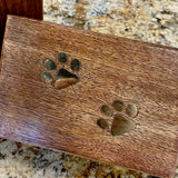 Dog Paw Wooden Boxes