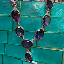 Load image into Gallery viewer, Amethyst Necklace D163