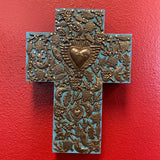 LHand Carved Milagro Cross