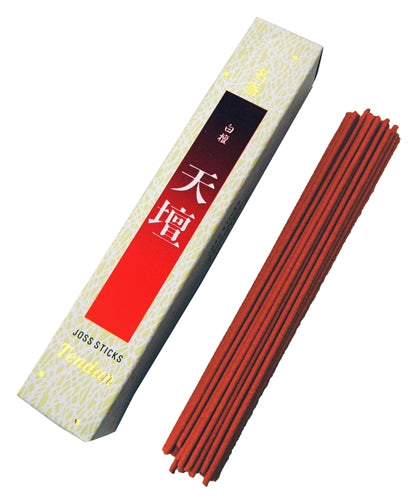 Tendan Japanese Sandalwood Incense - 60 Sticks