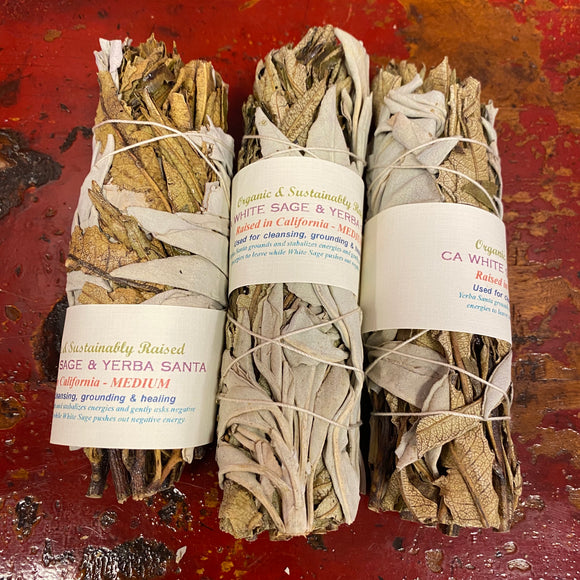 California White Sage & Yerba Santa Smudge