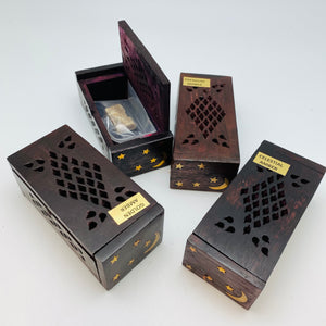 Premium Amber Resin Incense with Gift Box