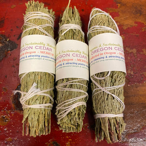 Cedar Smudges from Oregon