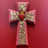 Hand Carved Milagro Cross