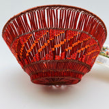 Zulu Copper and Bead Basket 6""